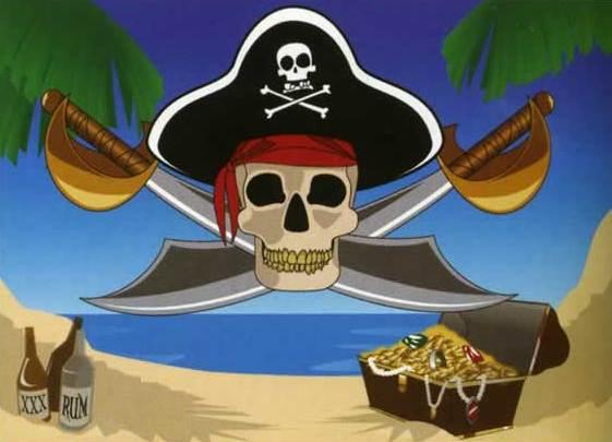 оформление в пиратском стиле идеи