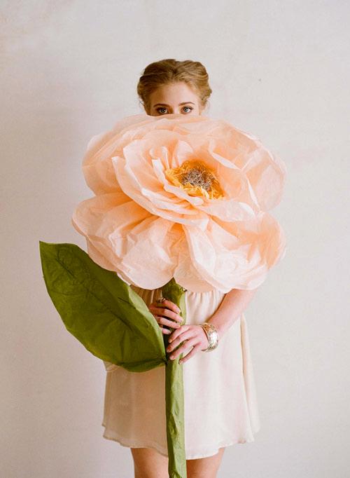 огромные цветы для фотосессии как сделать