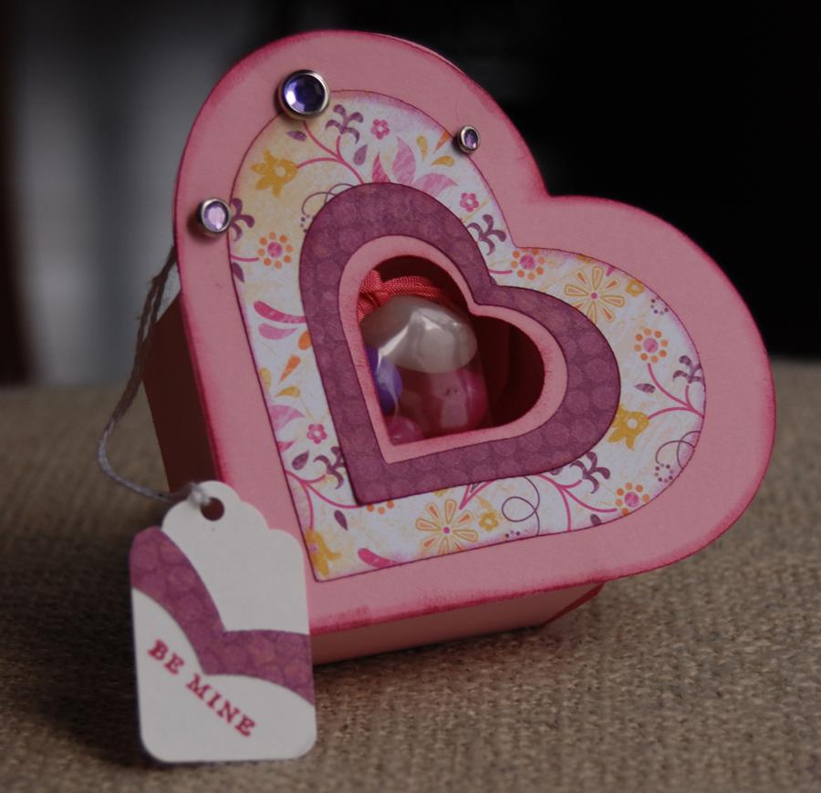 Коробочка сердце как сделать
