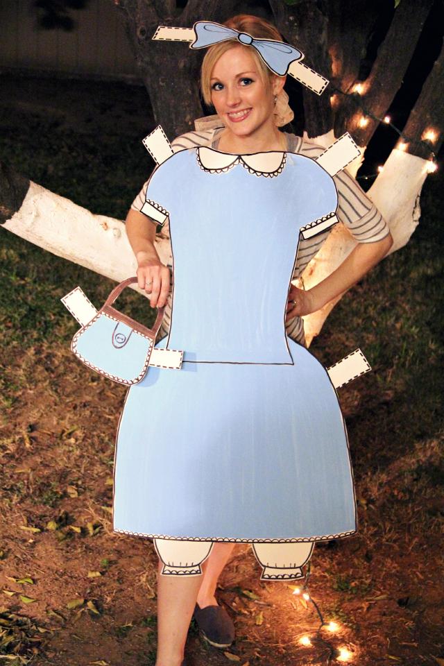 костюм бумажной куклы