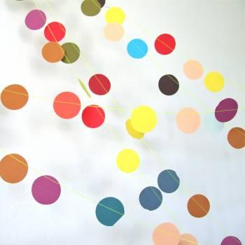 Праздничная гирлянда «Разноцветные круги»