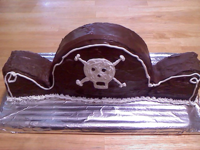 торт пиратская шляпа рецепт