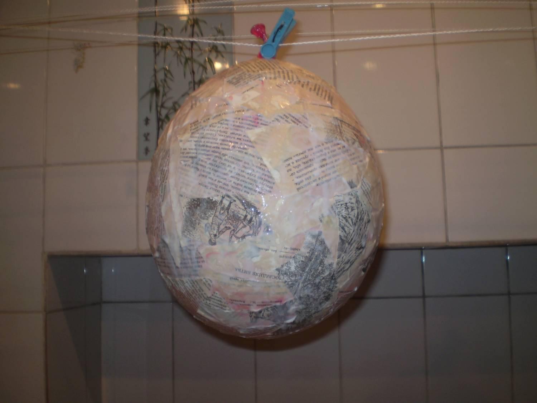 пиньята из воздушного шара + советы