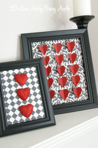картина-подарок на день святого Валентина