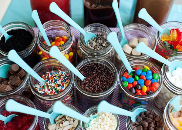 Мороженое на десерт как подать