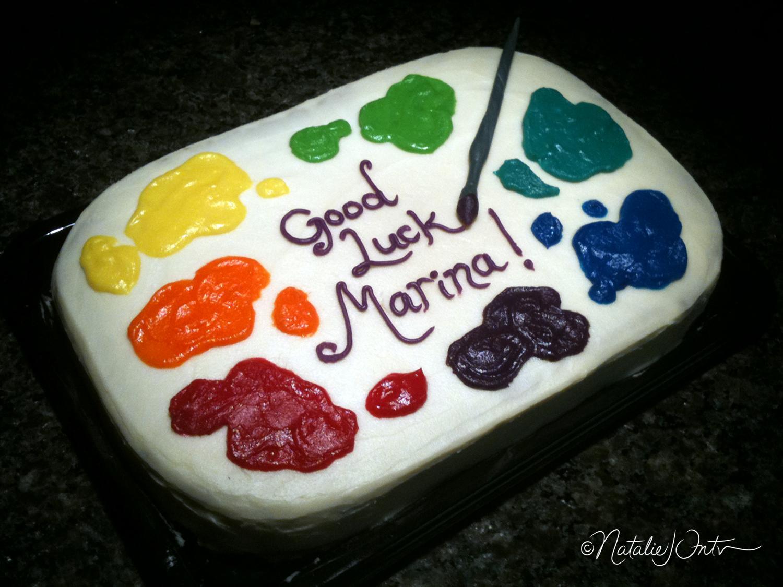 торт мольберт