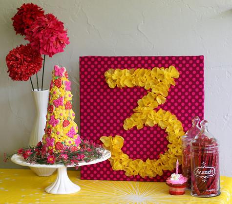 цифра стенд для дня рождения