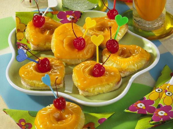 гавайские тосты с ананасом рецепт