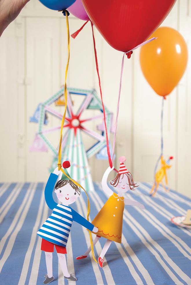 подвески для воздушных шариков