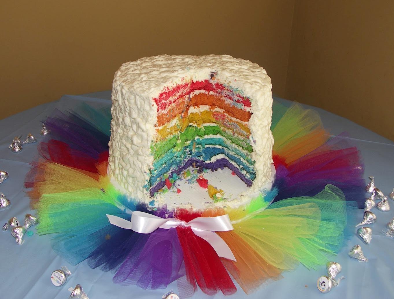 юбочка туту для торта