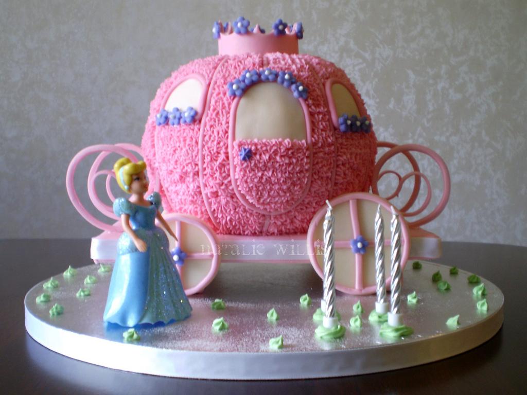 торт карета Золушки пошаговый рецепт