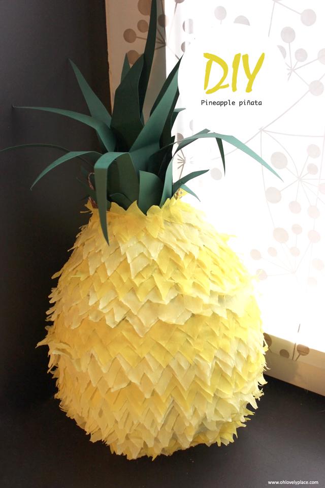 пиньята ананас