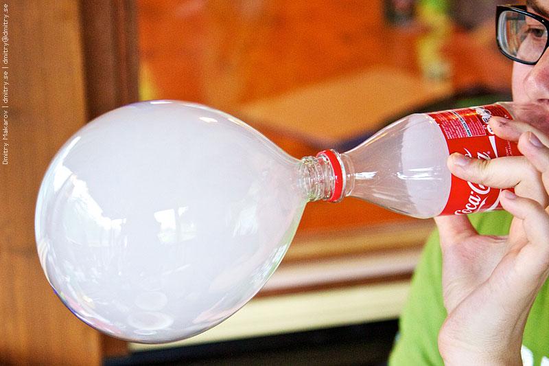 шоу мыльных пузырей своими руками