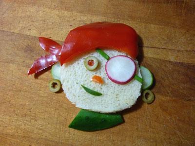 бутерброд Пират