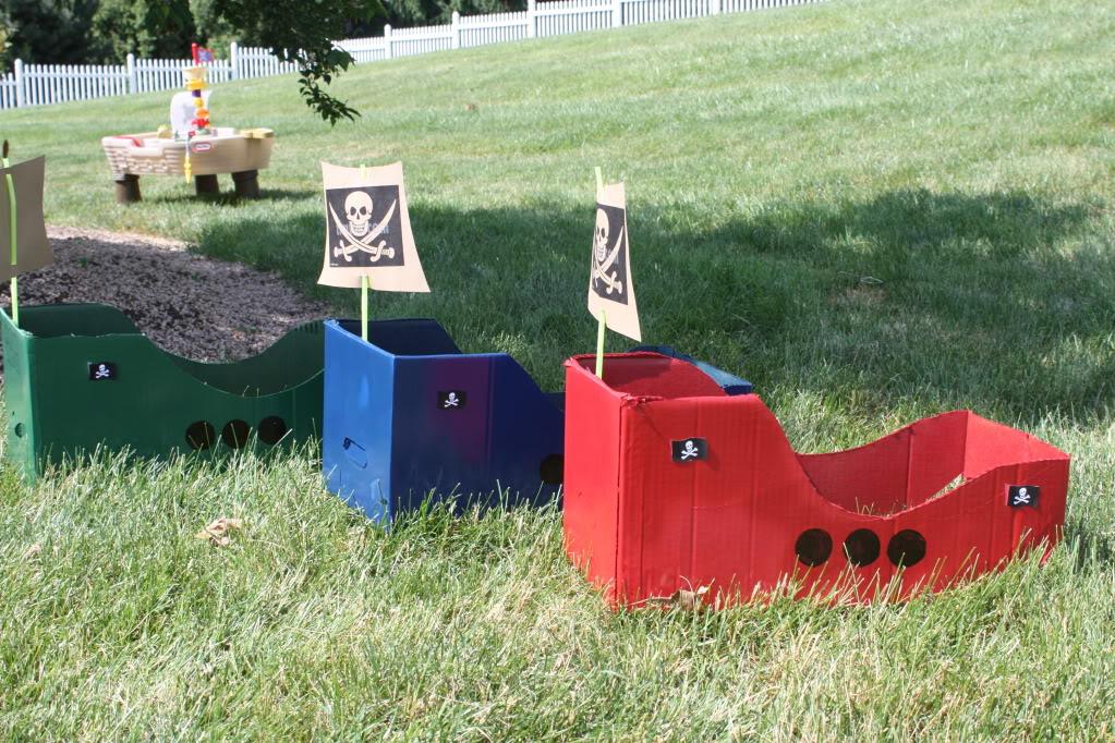 пиратские игры и конкурсы
