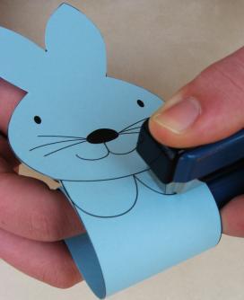 кольца для салфеток кролики