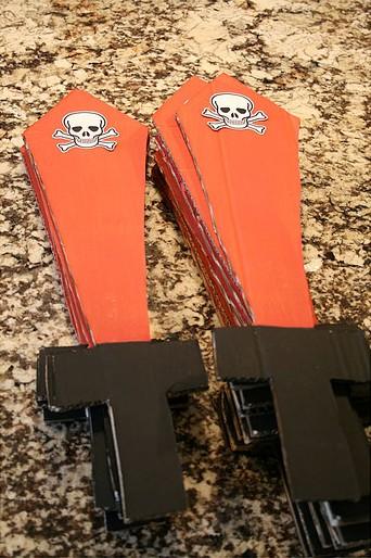 Как сделать пиратский меч из картона