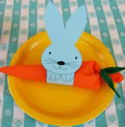 Кольца для салфеток «Кролик»