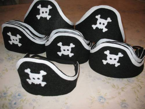 Пиратские шляпы из войлока