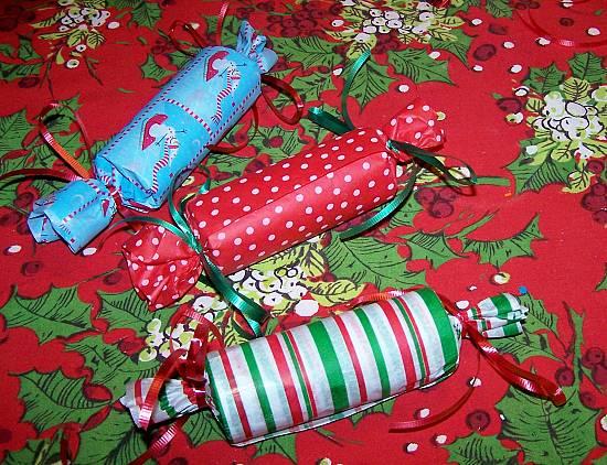 новогодние конфетки - упаковка