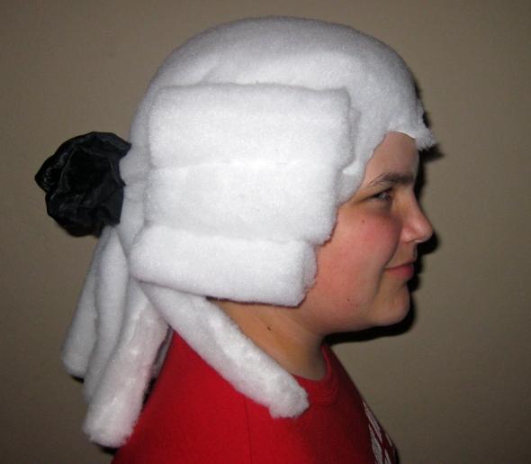 Как сделать мужской парик
