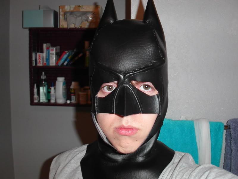Маска бэтмена своими руками фото
