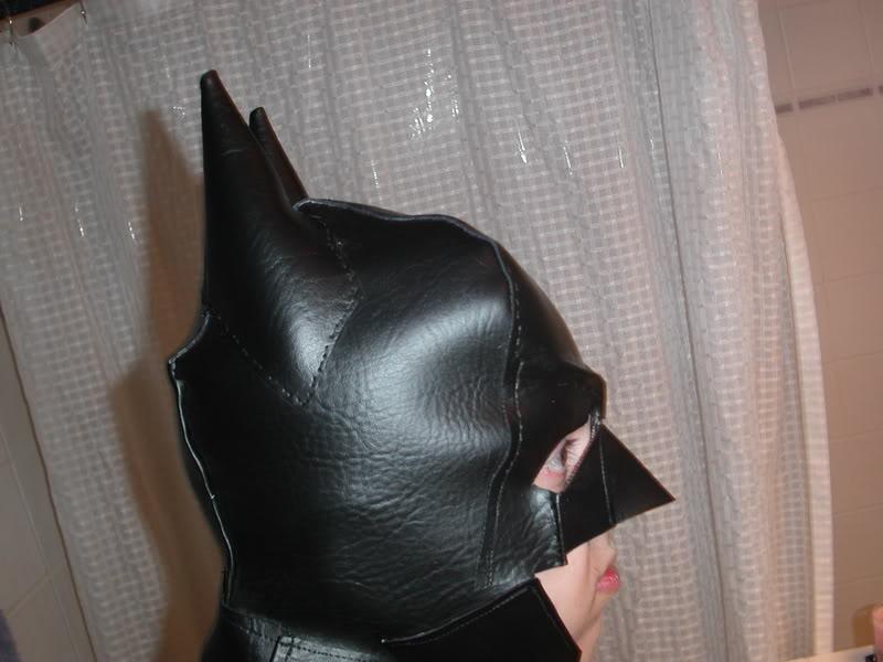 маска (шапка) Бэтмена своими руками