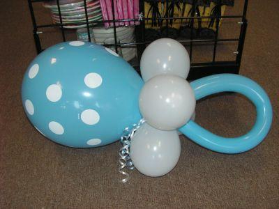 Как сделать пустышку из воздушных шариков