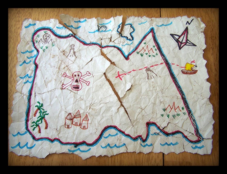 Карта сокровищ своими руками Лука Онлайн 91