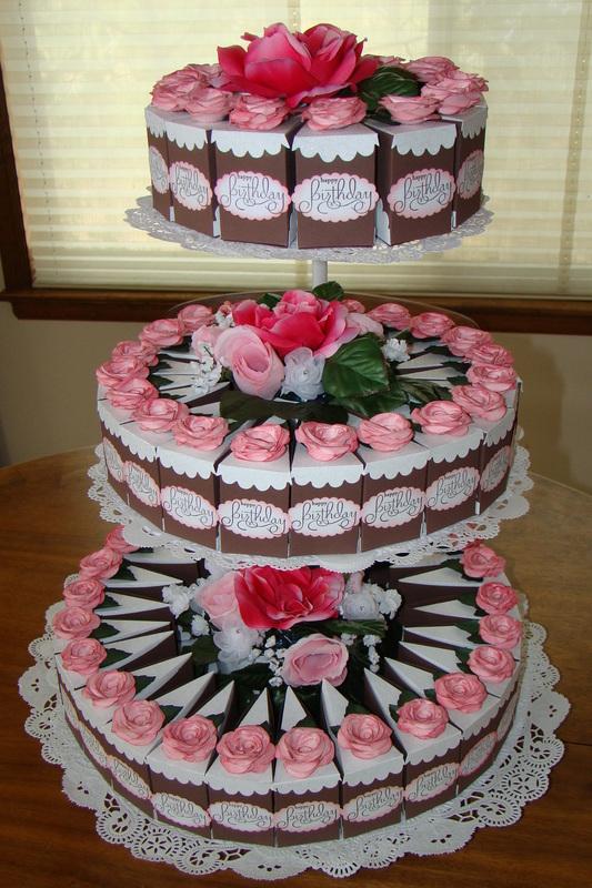 бумажный торт как сделать + шаблоны