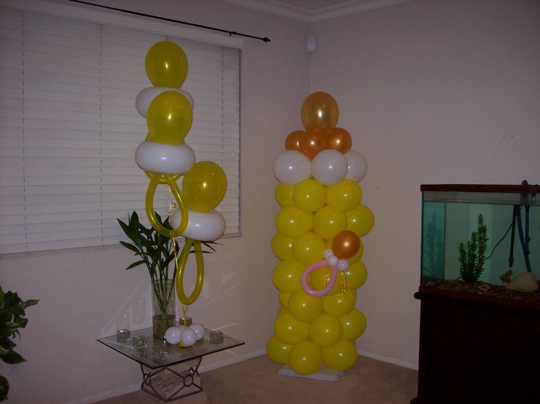 пустышка из воздушных шариков
