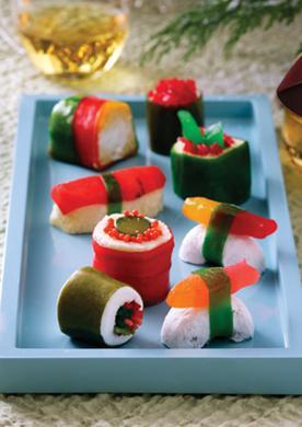 сладкие суши рецепт