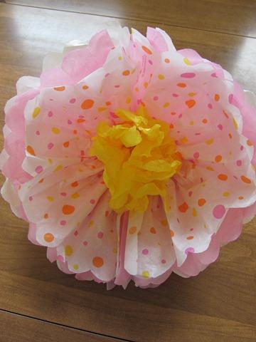 бумажные цветы из гофрированной бумаги