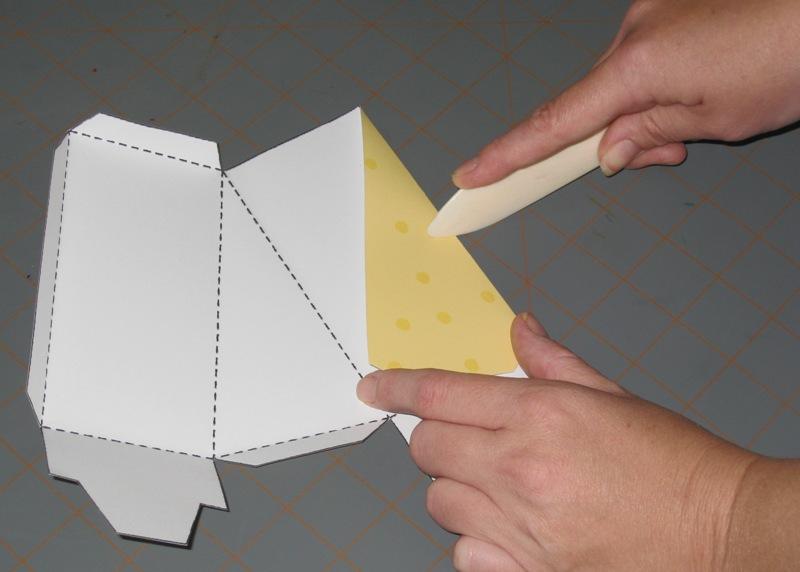 Тортик из бумаги своими руками