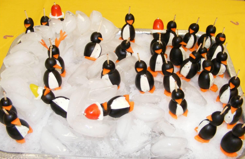 Закуска пингвины