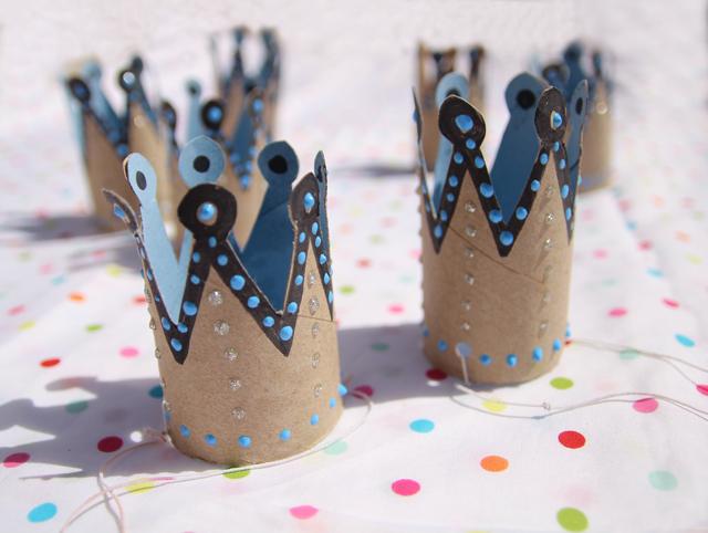 корона из рулончика