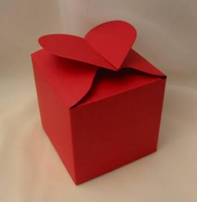 Коробочки-сердечки для