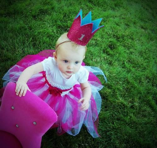Мини-корона для дня рождения