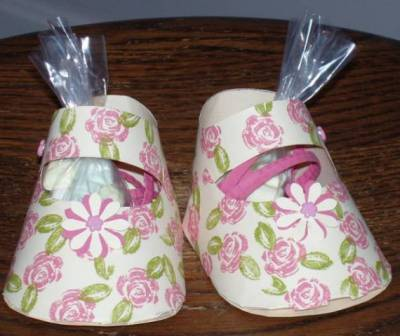 Коробочка для конфет «Пинетки»