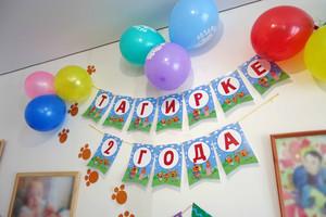 2 года Тагирке в стиле Три кота фотографии со дня рождения