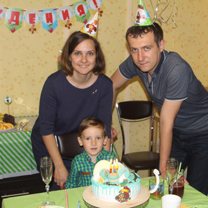 Егору 3 года в «Крокодил Гена и Чебурашка»