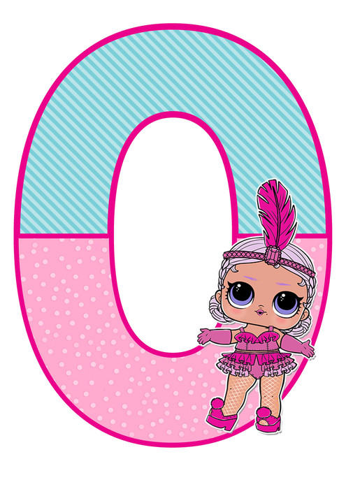 number 0 lol doll printable