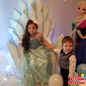 Лиане 5 лет - день рождения в стиле Холодное сердце