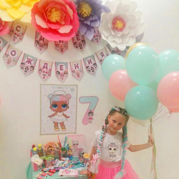 Рите 7 лет - день рождения в стиле ЛОЛ фотографии со дня рождения