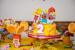 2 годика Лидочке - день рождения в стиле 3 кота фотографии со дня рождения