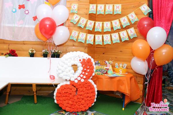 3 годика Оливочке - день рождения в стиле 3 кота фотографии со дня рождения