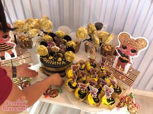 Айлине 6 лет - день рождения в стиле ЛОЛ Королева Пчелка