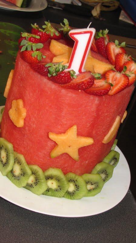 торт из арбуза рецепт