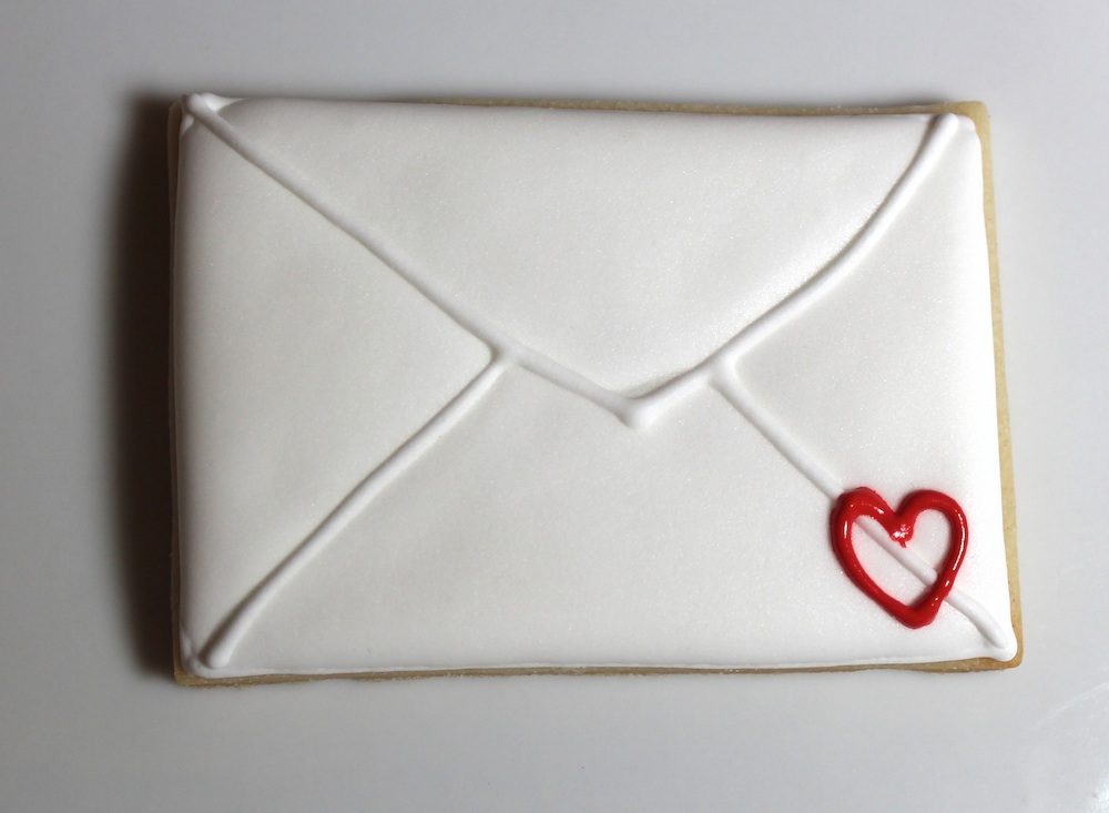 печенье на день Валентина