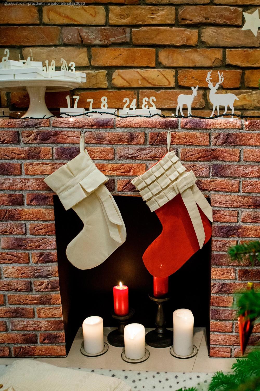 адвент-календарь из рулонов туалетной бумаги